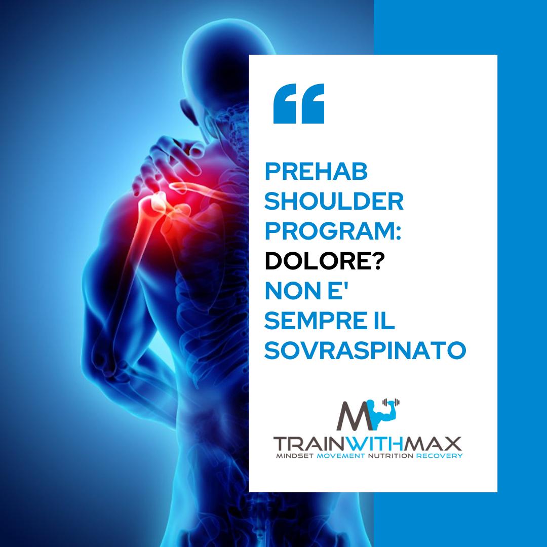 Prehab Shoulder Program: alzate laterali con omero in intra-rotazione!